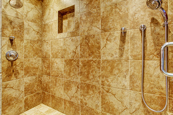 granite shower tile